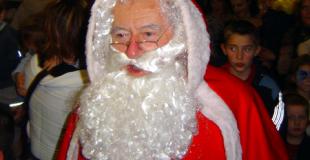 Animation Père Noël pour les enfants